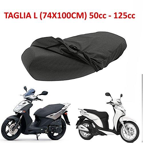 Funda impermeable para asiento de scooters de 50, 125, 150, 200 y 300 cc L