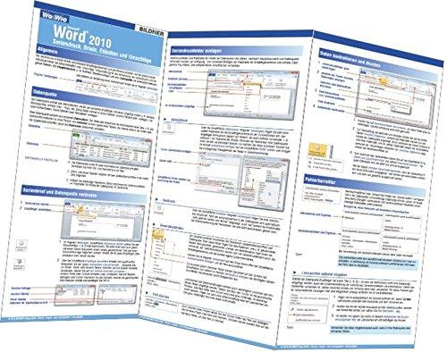 Word 2010 Seriendruck - Briefe, Etiketten und Umschläge