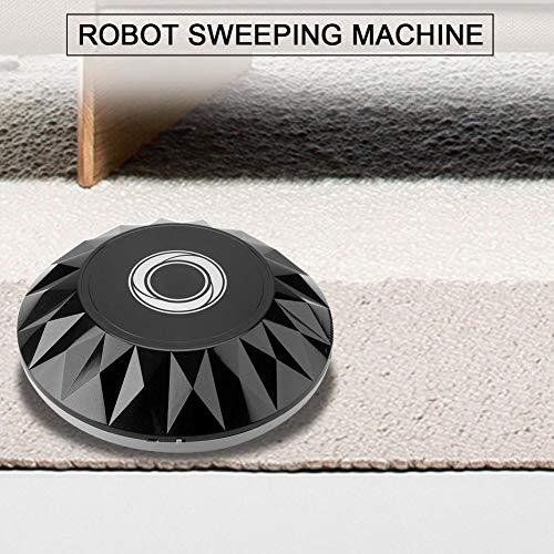 Haofy-Robot-Aspirador-Mquina-de-Barrido-Inteligente-USB-Recargable-Limpiador-de-Polvo-de-Vaco-Negro