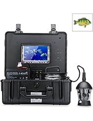 SHOPINNOV Camera sous-marine 360 degres capteur Sony CCD 1/3 pouces 600LTV + Moniteur 7 pouces couleur + Telecommande