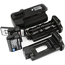 DSTE Multi-Power Battery Grip Pack With Wireless Remote Control for Nikon D7000 as MB-D11 SLR Camera + 2pcs EN-EL15 Li-ion Battery