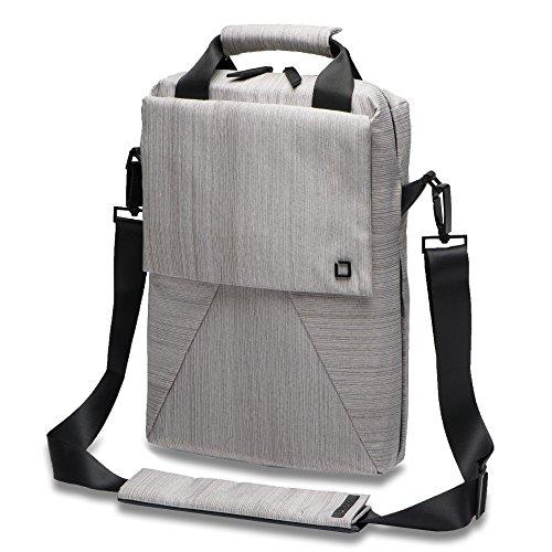 DICOTA Code Sling Bag 11-13 (für Notebooks bis 33 cm) Schultertasche für Tablet und Notebook / grau