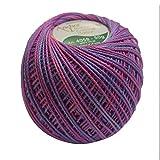#9: Anchor Mercer Knitting Cotton Multicolour-Multicolour-405801325 - 50 g x 2