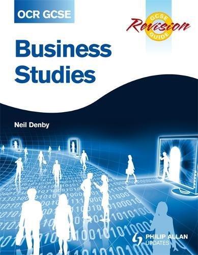 OCR GCSE Business Studies Revision Guide (Gcse Revision Guide)