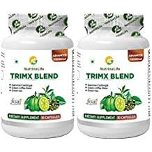 NutrineLife Trimx Blend for Weight Loss, 90 Veg Capsules, 550 mg (Pack of 2)