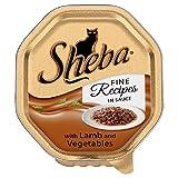 Sheba Feine Rezepte in Sauce mit Lamm und Gemüse 100g