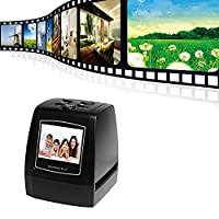 Film Scanner Converter 2.36 Inch TFT LCD 5MP 10MP USB 2.0 5MP 35mm Negative Film and Slide Scanner TFT LCD Display Support SD Card