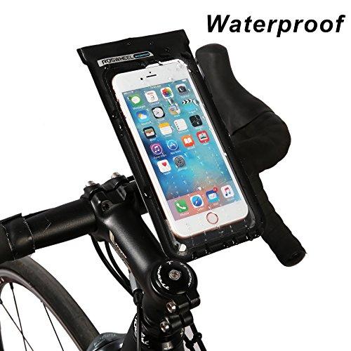 DCCN Fahrrad Lenkertasche Wassdichte Satteltasche Handy Tasche für Mountain Bike No.1 Handyhaltung