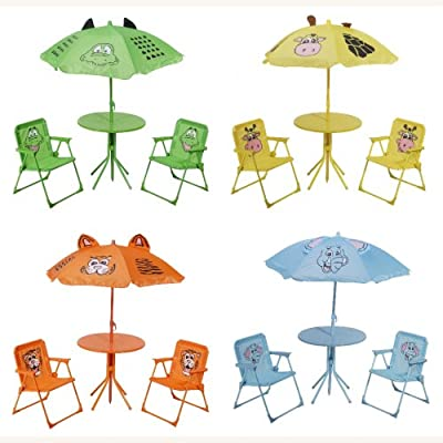 Gartenmöbel für Kinder - Gartenmöbelset Sitzgruppe Garten - in 4 tollen Motiven