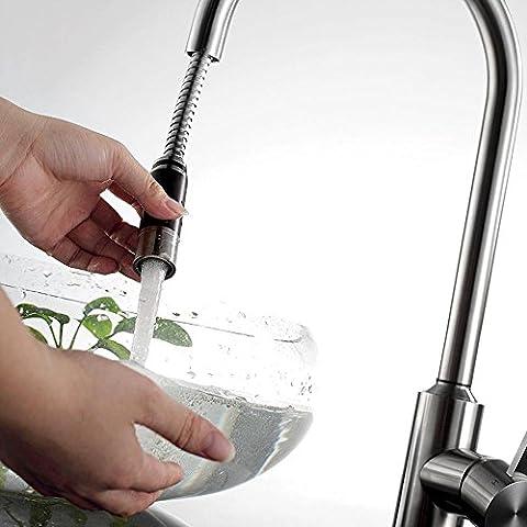 sbwylt-kitchen rubinetto calda e fredda, in acciaio inox 304a leva