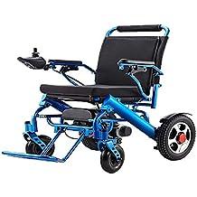 Silla de ruedas eléctrica BM-6012 aleación de aluminio ligera y plegable 22.8 kg +