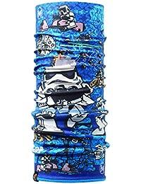 Buff - Braga y cinta de pelo infantil de forro polar, diseño de Star Wars