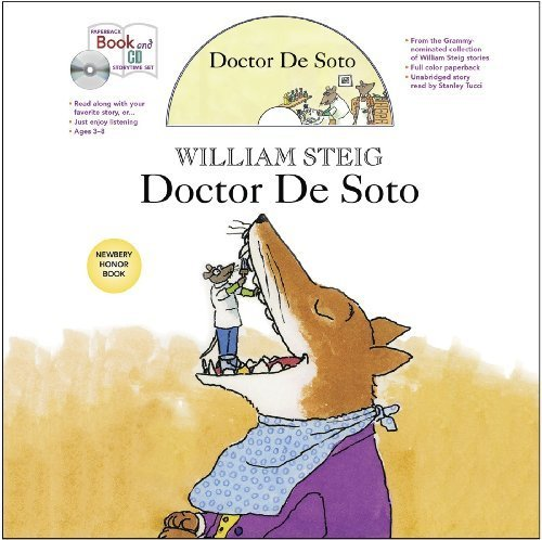 Doctor De Soto book and CD storytime set (Paperback Book and CD Storytime Set) by Steig, William (2012) Paperback