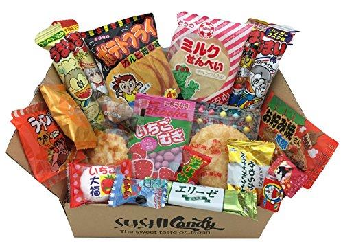 20 Dulces japoneses DAGASHI set regalo con caramelo para los niños