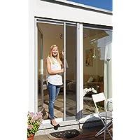 Schellenberg 70896 Insektenschutzrollo für Türen – 160 x 225 cm in Weiß