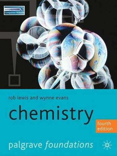 Chemistry (Palgrave Foundations Series)