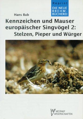 Kennzeichen und Mauser europäischer Singvögel: KENNZ. & MAUSER EUROP. 2 SINGVÖGEL - Würger Tiere