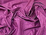Uni Taft Kleid Stoff magenta–Meterware