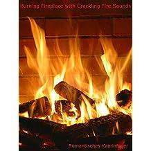 Burning Fireplace Crackling Fire [OV]