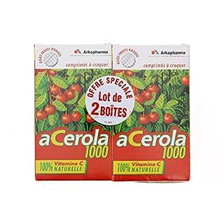 Arkopharma Acerola 1000 30 Tablets to Crunch