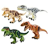 Best LEGO Gift For 4 Year Olds - Greshare 4 Vivid Large-scale Dinosaur Blocks Children over Review