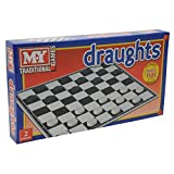 Draughts Game Children Family Traditional Draughts Board Game x 1