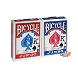 US Playing Card Company - Pokerkarten - Bicycle Jumbo Index