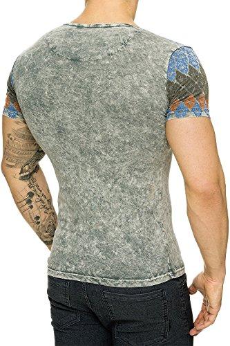 Tazzio Herren T-Shirt 16-108 Grey