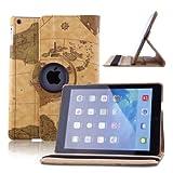 ParaCity Schutzhülle Cover für iPad Air PU Leder Case Etui Smart Schutz Hülle Tasche