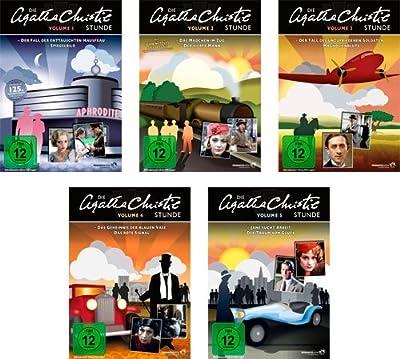 Die Agatha Christie-Stunde - Vol. 1 + 2 +3 + 4 + 5 Gesamtedition / 10 Folgen auf 5 DVDs