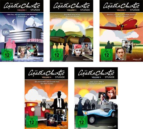 Die Agatha Christie-Stunde - Vol. 1 + 2 +3 + 4 + 5 Gesamtedition (Laramie) / 10 Folgen auf 5 DVDs