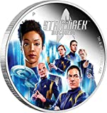Power Coin Discovery Crew The Original Series 2 Oz Silber Münze 2$ Tuvalu 2019