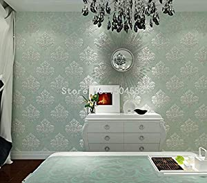 Wallpapers 3D Wallpaper European Style Luxury Wallpaper Stereo Embossed Non-Woven Wallpaper Living Ro by PVCOLLRO