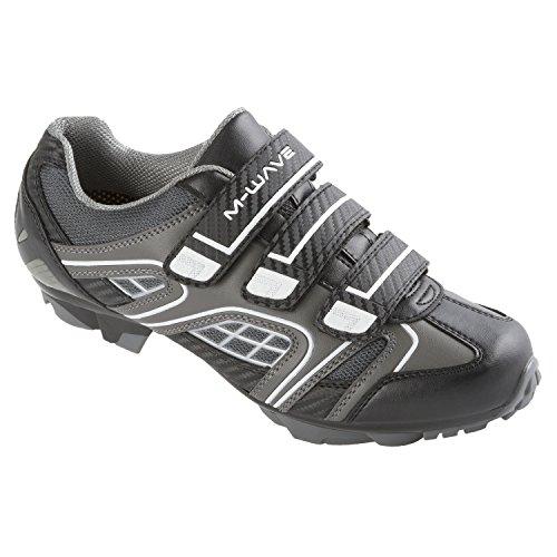 M-wave - scarpe da bicicletta mtb, taglia: 39, colore: nero