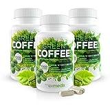 Green Coffee Kapseln 7.000 mg - 3er Pack - Hochdosierter Grüner Kaffee | Green Coffee Extrakt Zum Abnehmen | Wirksamer Appetitzügler Und Fatburner Für Männer Und Frauen | Nahrungsergänzungsmittel
