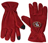 FOCO San Francisco 49ers Fleece-Handschuhe