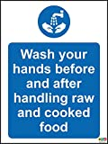 Hygiene catering Wash your hands before and after - Best Reviews Guide