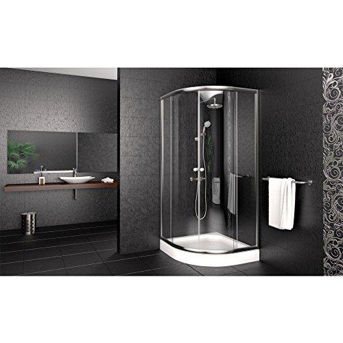Super Viertelkreis-Duschkabine in der Größe 90x90 cm im Test OM21