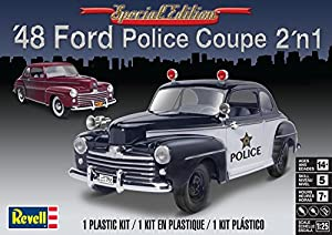 Revell-1948 Ford Police Coupe 2n1,Escala 1:25 Kit de Modelos de plástico, (14318)