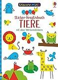 Usborne Minis: Tiere: Sticker-Kreativbuch