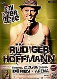 Rüdiger Hoffmann - Düren 2007 Konzert-Poster A1