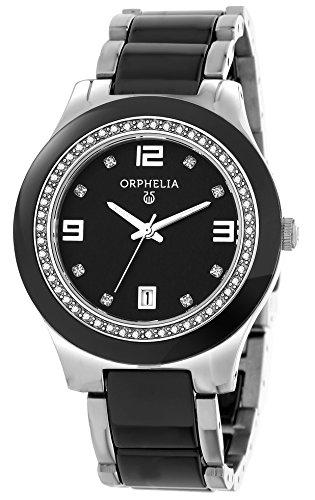 Orphelia Damen-Armbanduhr Analog Quarz Keramik 13503