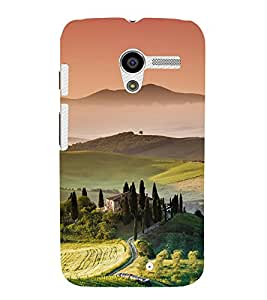 printtech Nature View Scenery Back Case Cover for Motorola Moto X XT1058 / Motorola Moto X (1st Gen)