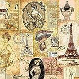 Serviette-Paris-Fashion