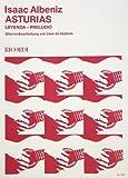 ASTURIAS LEYENDA (SUITE ESPANOLA OP 47/5) - arrangiert für Gitarre [Noten / Sheetmusic] Komponist: ALBENIZ ISAAC