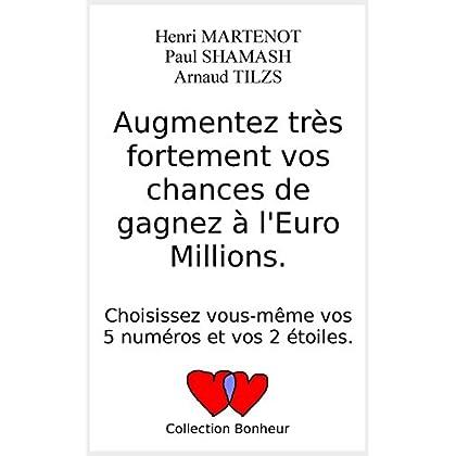 Augmentez très fortement vos chances de gagner à l'Euro Millions.: Choisissez vous-même vos 5 numéros et vos 2 étoiles.
