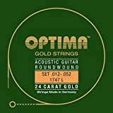 Optima 1747 L Acoustic GOLD Strings, light