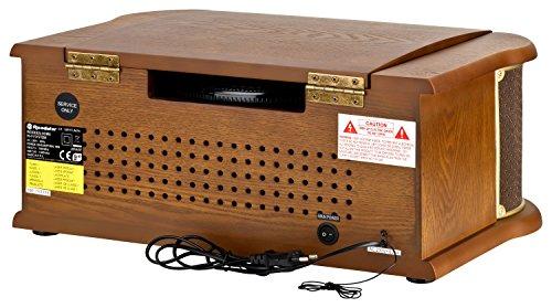 Roadstar HIF-1899 Retro Stereo-Anlage mit Plattenspieler, Kassette, CD-Player und Radio - 4