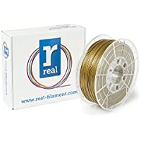 Real Filament 8719128325040 Real PLA, Spool of 1 kg, 1.75 mm, Gold - ukpricecomparsion.eu