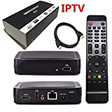 IPTV Box with 12 Months Prepaid IPTV 6000+ Global TV Channels